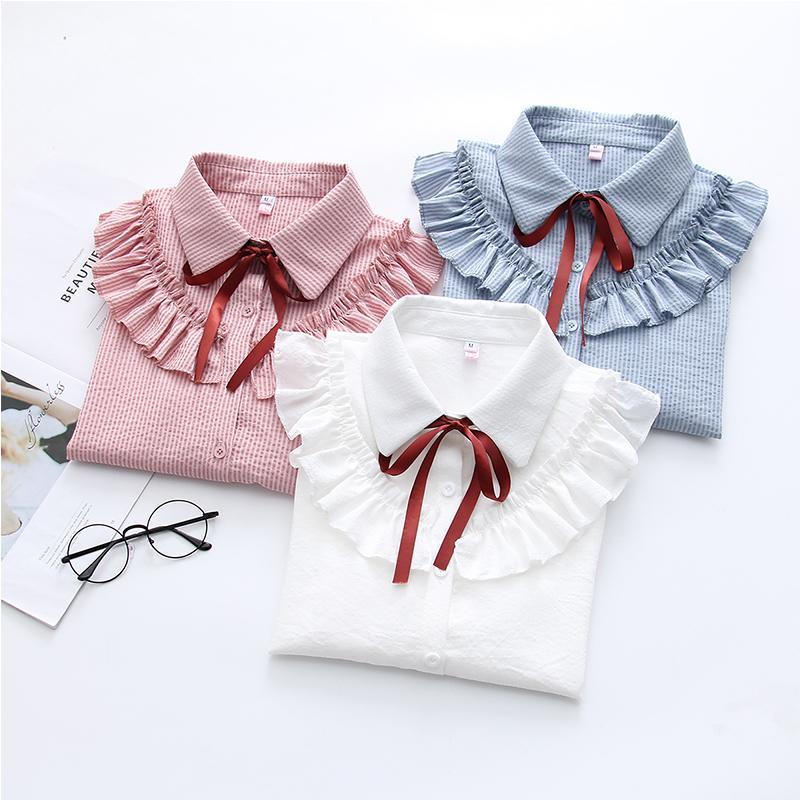 Идеи для шитья - блузки  рубашки