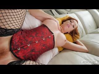Dani Jensen - home milf mature pov red hair boobs busty big tits booty cumshot blowjob sex porn рыжая мамка минет камшот