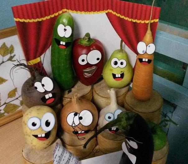 Овощной театр Как вам задумка