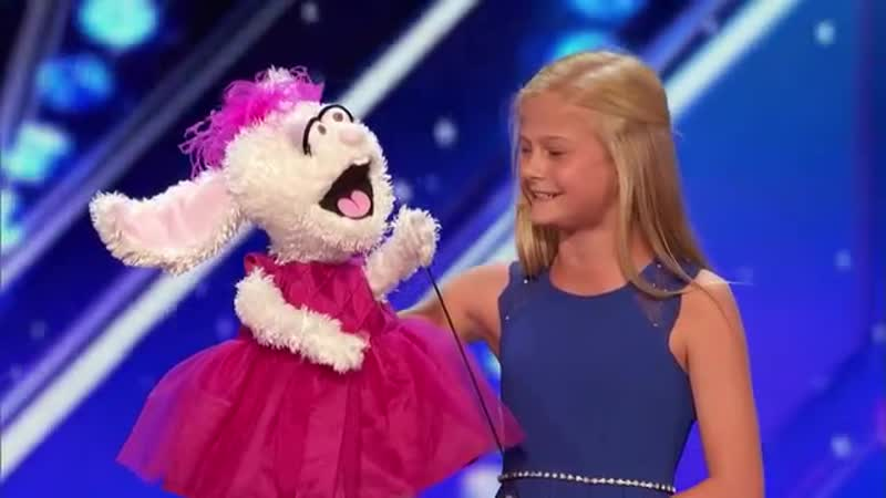 Darci Lynne_ 12-Year-Old Singing Ventriloquist Gets Golden Buzzer - America's Go.mp4