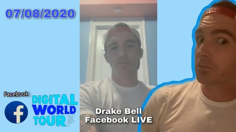 Drake Bell – Facebook LIVE Digital World Tour 07082020 San Diego