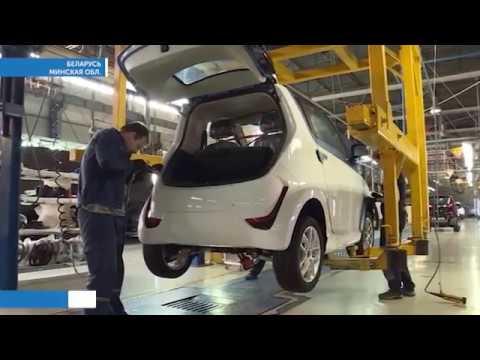 Первые электромобили отечественного производства сошли с конвейера в Беларуси