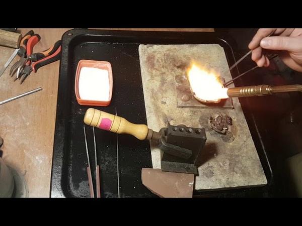 Школа ювелира урок №1 обзор и сравнение бензиновой и газовой горелок