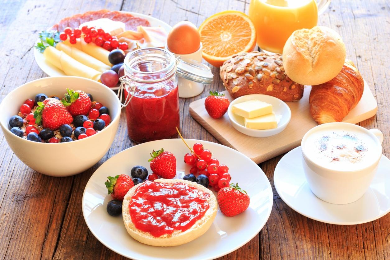 Дню, фото с надписью завтрак