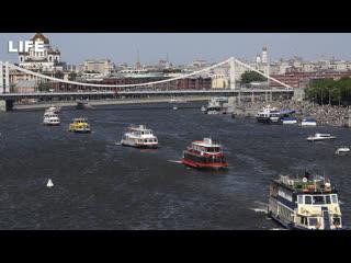 Парад судов на Москве-реке