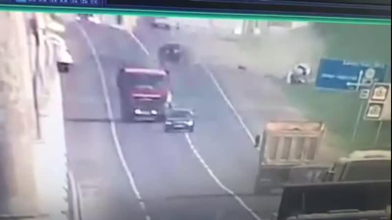 ДТП у автомоста в Тобольске