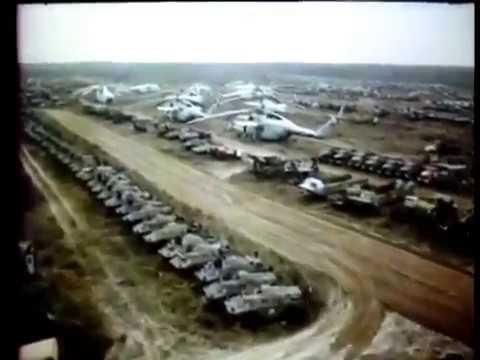Полет над могильником военной техники Рассоха 1991 год (Дрок П.В.)
