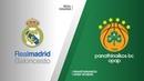 Real Madrid - Panathinaikos OPAP Athens Highlights | Turkish Airlines EuroLeague PO Game 2. Евролига, второй матч плей-офф. Обзор. Реал - Панатинаикос