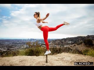 Ella Reese Stretching #Artporn #Black #Hardcore