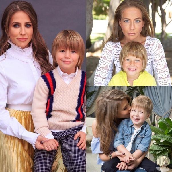 Юлия Барановская очень нежно поздравила сына с днём рождения