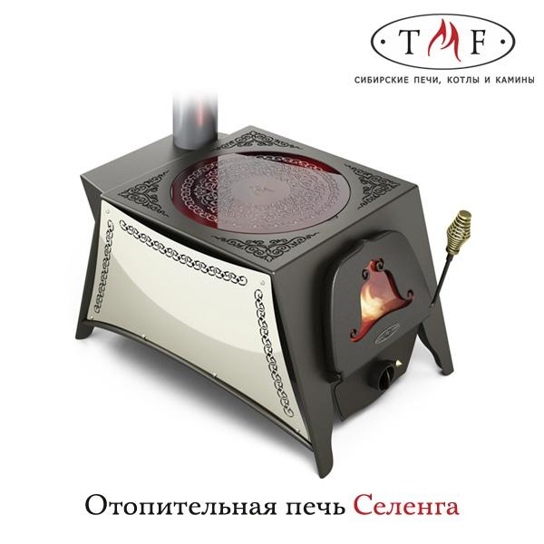 Отопительно-варочная печь «Селенга»