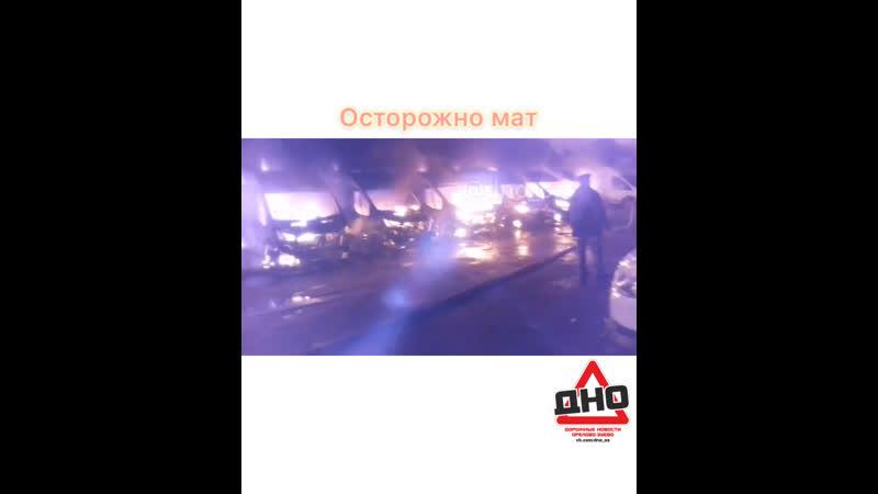 В Раменском сгорели 13 машин, фиксирующие скорость