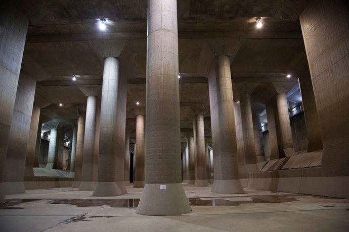 Гигантский ливнесток в Токио: шедевр от японских инженеров