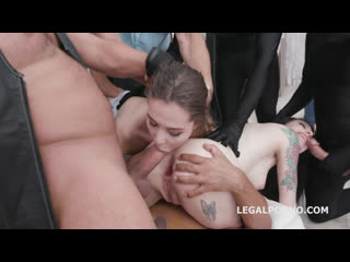 Anna de Ville, Sofi Smile - Anal Halloween 1 Balls Deep Anal DAP Gapes - Orgy Russian, Porn, Порно