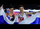 Российские гимнасты возвращаются домой после победы на ЧМ в Германии
