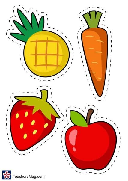 ЧТО ЗУБКАМ НРАВИТСЯ. Карточки для знакомства детей с полезной и вредной пищей. Обучающая игра проходит следующим образом: 1. вырезаем картинки зубов и продуктов питания;2. рядом с довольным