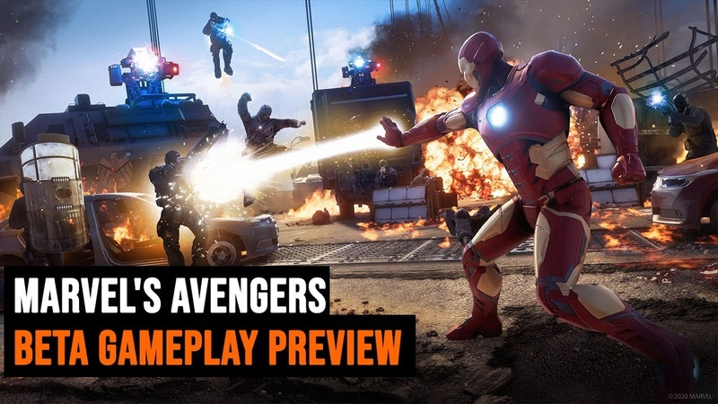 Marvel's Avengers BETA gameplay preview