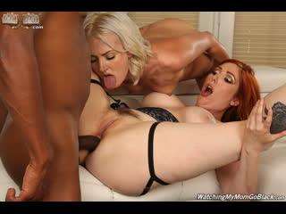 Lauren Phillips, Zoe Sparx - And Big Black Cock -  Anal Sex IR ATM Threesome Hardcore Milf Teen BBC Big Tits Ass Cum Porn, Порно