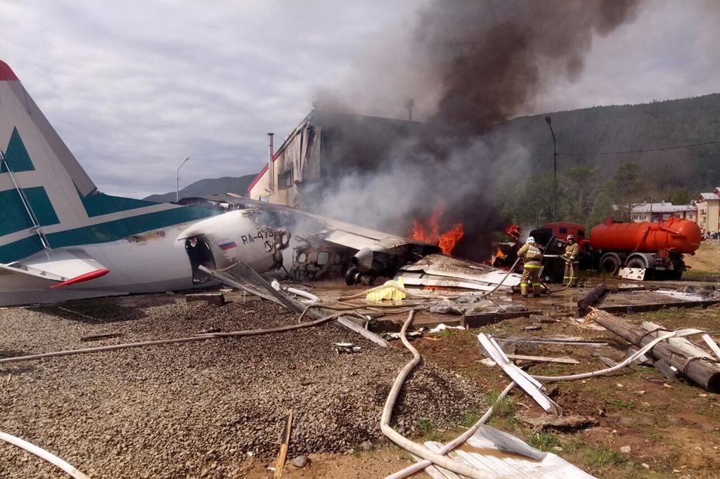 После катастрофы Ан-24 в Бурятии экипаж самолета представили к госнаградам