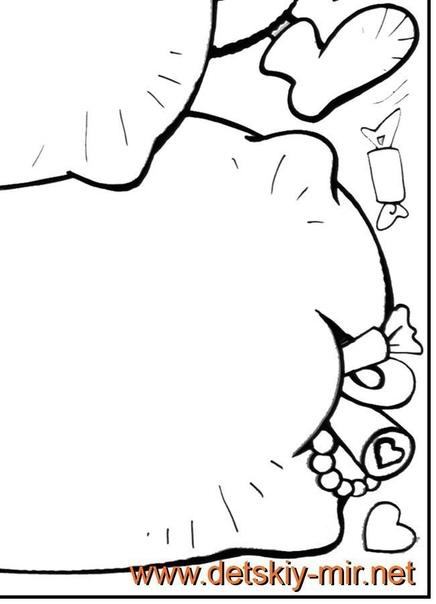 Новогодняя стенгазета (шаблон в формате pdf прилагается) Шаблон в формате pdf прилагаетсяСтенгазета состоит из 8 листов формата А4, формат готового изделия - А1. Ход работы: 1. Распечатываем 8