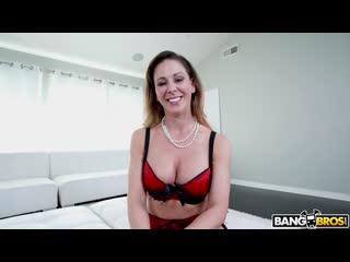 [BangBros] Cherie Deville - DP, Anal, White, Pornstar, Hardcore, Cumshot, Facial, Blonde, Milf, Threesome, Dildo, Shaved