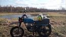 Мотоцикл Тула и Восход 3м-1 ВосходМакакаИж хороший offroad, кто лучше едет в болоте?