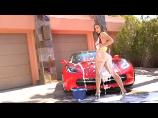 Lena Paul (Anal Car Wash Girl)[2019, Hardcore, Facial, Anal, Tit