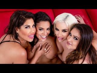Bridgette B, Katana Kombat, Luna Star, Victoria June - Office 4-Play: Latina Edition (Orgy, Big Ass, Big Tits, Blowjob, Blonde)