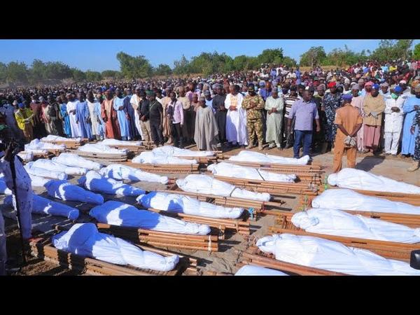 Suspected Boko Haram extremists kill dozens of Nigeria farmers