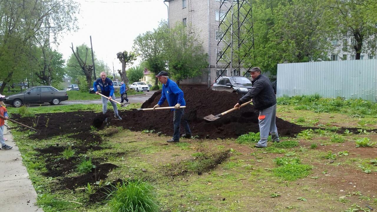 Октябрьский проспект дом 34 председатель дома инициировала
