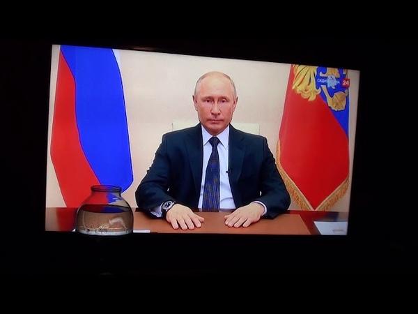 Кто нибудь понял зачем Путин опять выступал перед нацией Ни режима ЧС ни дополнительной помощи