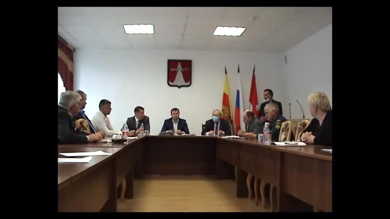 Сессия Собрания депутатов Западнодвинского района 29 05 2020г