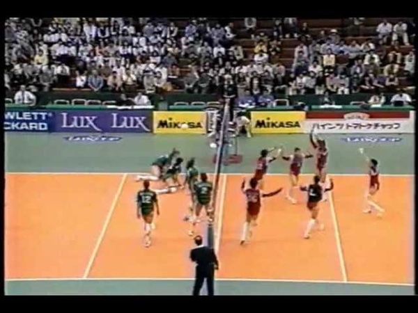Volleyball - Russia vs Japan 1996 World Grand Prix Sendai Part36