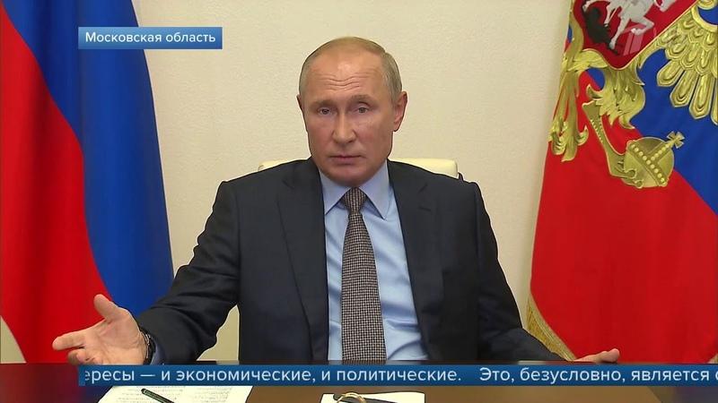 Ситуацию с задержанными в Минске россиянами В.Путин обсудил по телефону с А.Лукашенко.