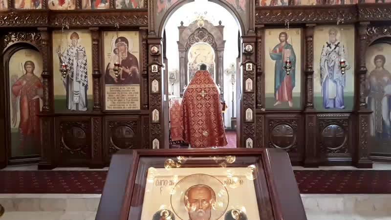 Литургия Перенесения мощей святителя и чудотворца из Мир Ликийских в Бар