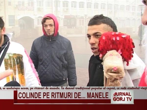 COLINDE PE RITMURI DE MANELE