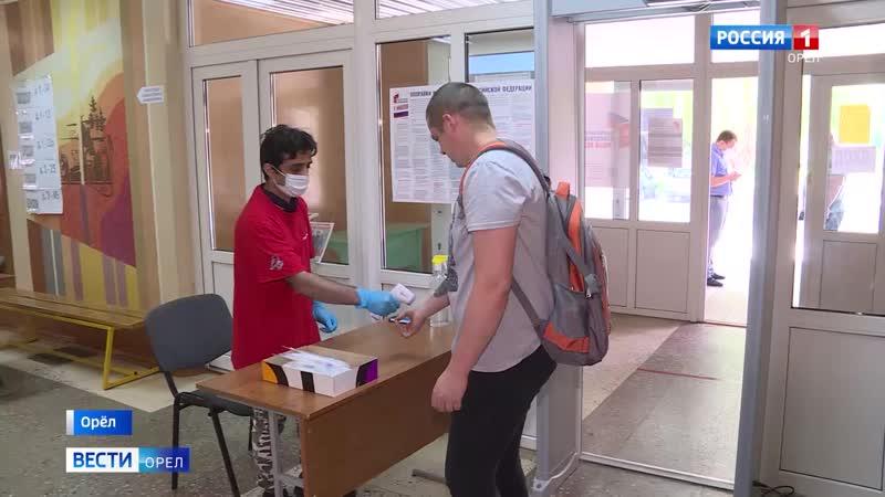 Молодёжка ОНФ обеспечивает противоэпидемиологические меры на участках голосования