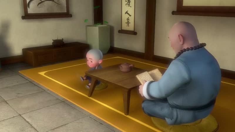 Yichan El Cuento de los Tres Monjes