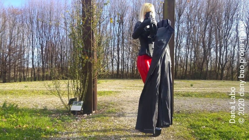 DANA LABO highlights of the 4k videos on leggings boots and leather dresses