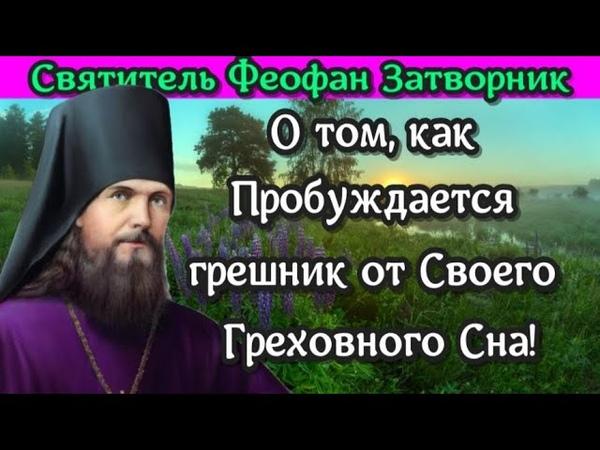 О том как Пробуждается грешник от Своего Греховного Сна свт Феофан Затворник