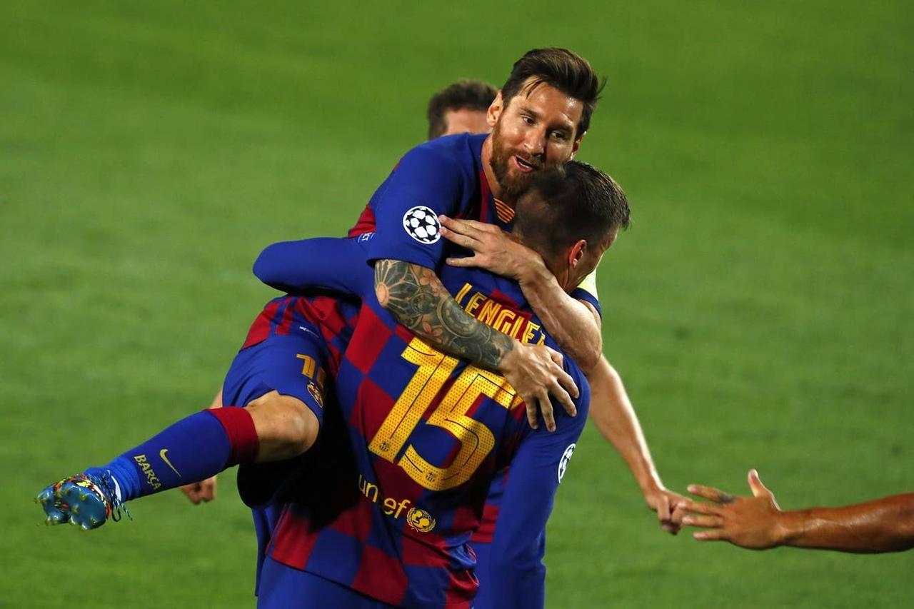 Барселона - Наполи, 3:1. 1/8 финала Лиги чемпионов 2019/20