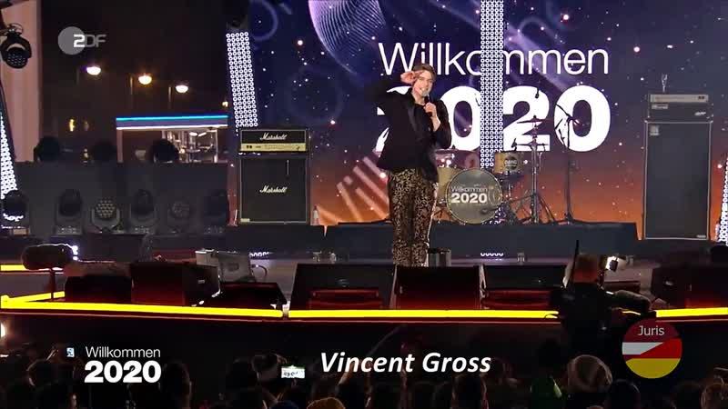 Vincent Gross - Joana Servus, Grüezi und Hallo (Willkommen 2020)