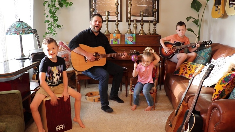Colt Clark and the Quarantine Kids play Handle With Care