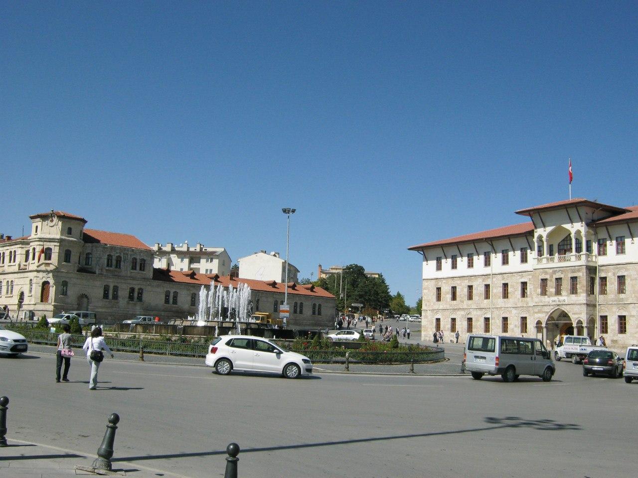 Старинный центр города Сивас