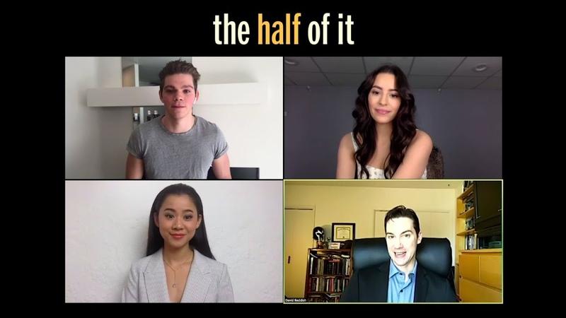 THE QUEERTY INTERVIEW Leah Lewis, Daniel Diemer, Alexxis Lemire of Netflixs The Half of It