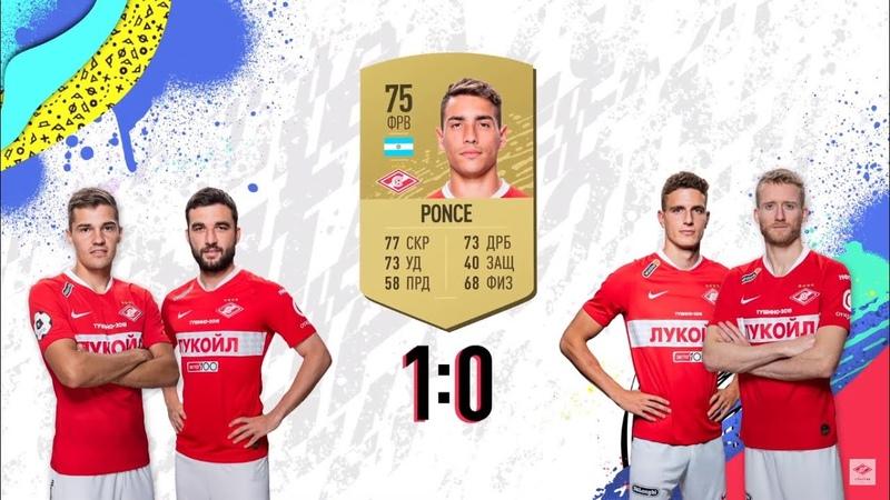 FIFA 20 Игроки ФК Спартак угадывают одноклубников по их рейтингам