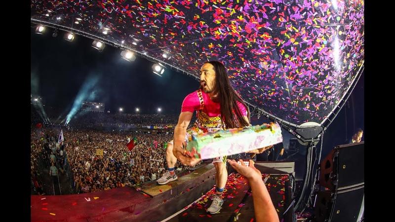 Steve Aoki Tomorrowland Belgium 2019 W1