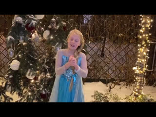 Таня Меженцева - Let it go (Холодное сердце)