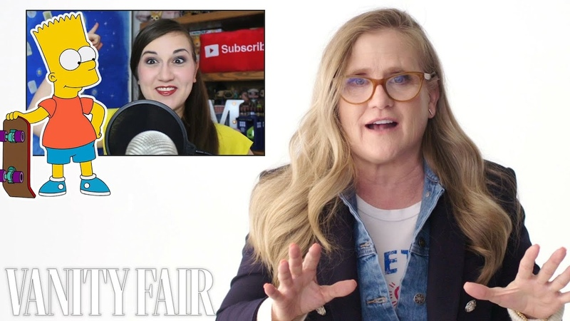Nancy Cartwright Bart Simpson Reviews Impressions of Her Voices Vanity Fair