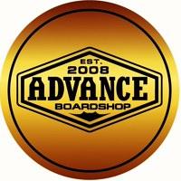 Логотип board shop «ADVANCE» (Владивосток)